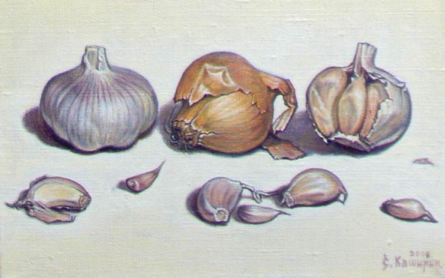 Stepan Vladimirovich Kashirin. The onion and garlic.
