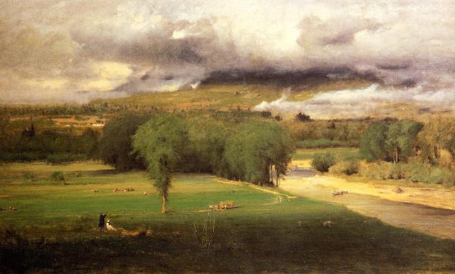 George Innes. Conway Meadows