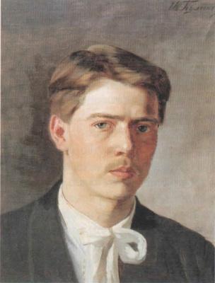 Иван Семенович Куликов. Автопортрет. 1896