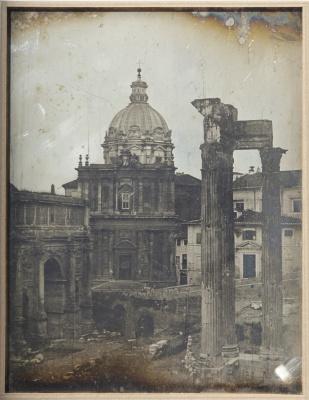 Жозеф-Филибер Жиро де Прандже. Храм Веспасиана, Рим
