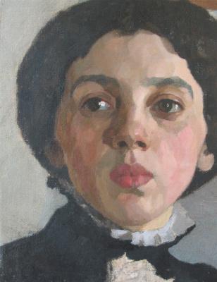 Дамиан Васильевич Шибнев. Female portrait