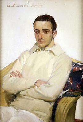 Joaquin Sorolla (Soroya). Portrait of Jose Luis Lopez de Arana Banglore
