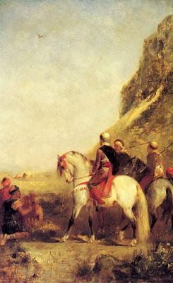 Эжен Фромантен. Арабские охотники