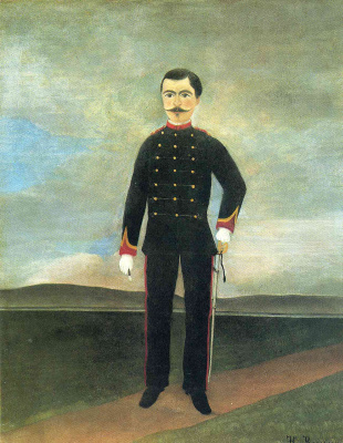 Henri Rousseau. Portrait of Marshal