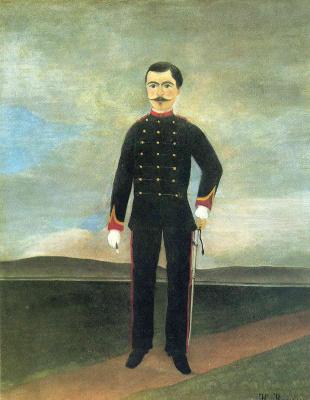 Henri Rousseau. Portrait of Marshal