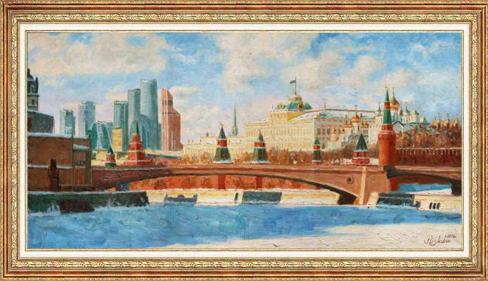 Igor Razzhivin. View of the Grand Kremlin Palace