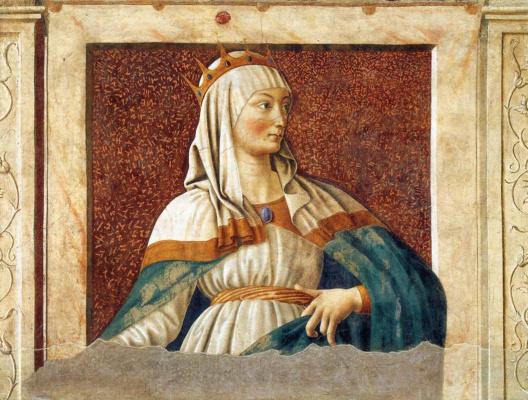 Андреа дель Кастаньо. Знаменитые персоны. Царица Есфирь