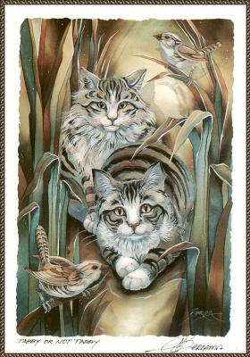 Джоди Бергсма. Полосатый кот или не полосатый