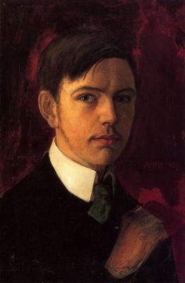 August Macke. Self-portrait
