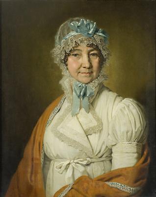 Vladimir Lukich Borovikovsky. Portrait of N. I. Dubovitskaya. 1809