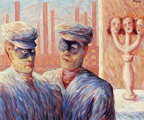René Magritte. Intelligence