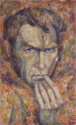 Boris Plaxius. Self-portrait