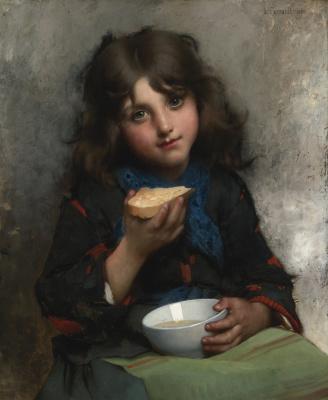 Leon Basile Perrot France 1832-1908. Tea time 1880