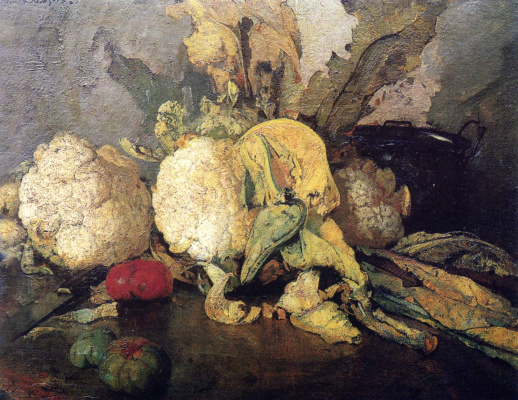 Ivan Grigorievich Myasoedov. Still life with vegetables