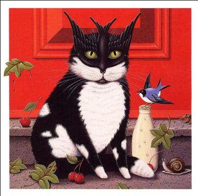 Джеймс Марш. Кот и птица