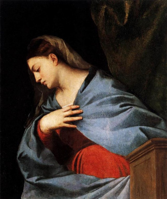 Titian Vecelli. The Altar Of Averoldi. Snippet: The Virgin Mary