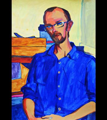 """Nikolay Nikolayevich Aksenov. """"Portrait of Dima"""""""