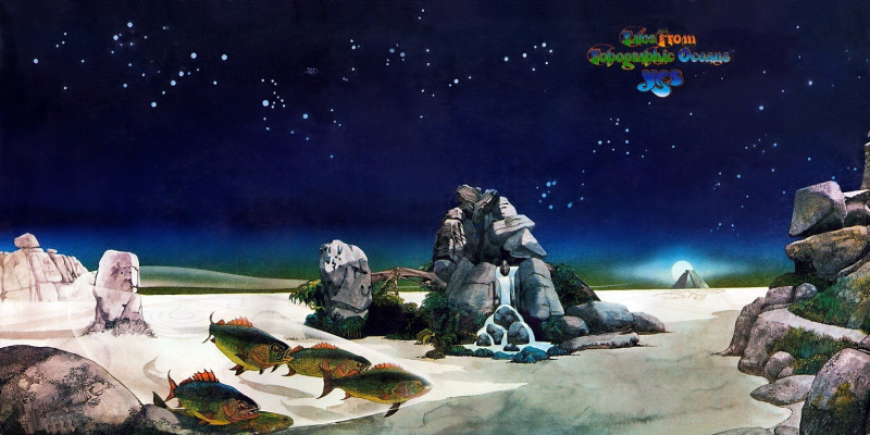 Роджер Дин. Tales From Topographic Oceans