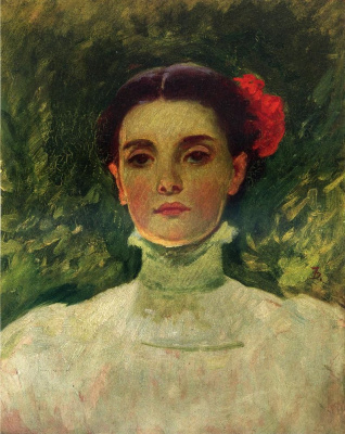 Frank Divenk. Portrait Of Maggie Williams