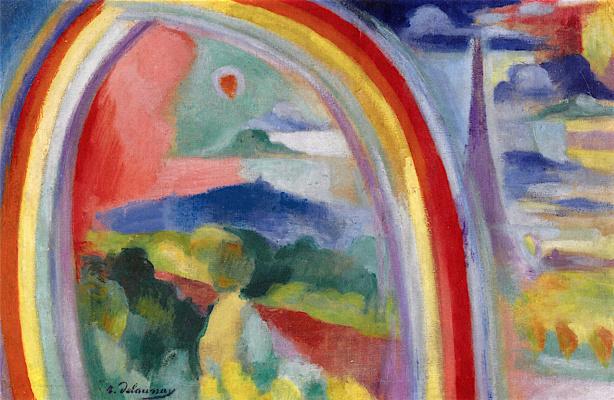 Robert Delaunay. Paris with Rainbow
