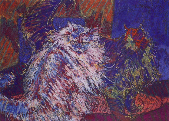 Уильям Сельдь. Коты