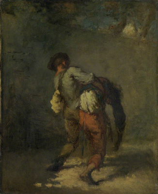 Jean-François Millet. Good Samaritan