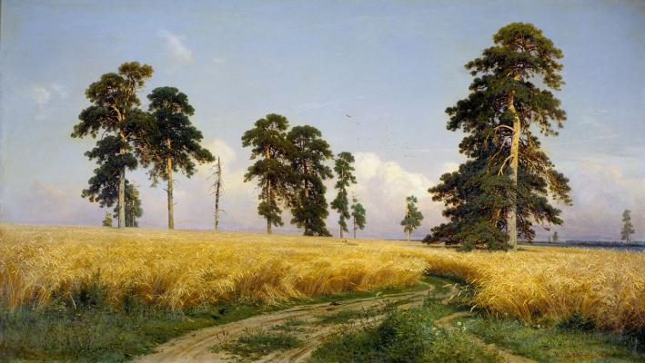 Ivan Ivanovich Shishkin. Rye