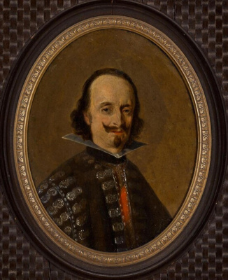 Gerard Terborch (ter Borch). Portrait of Don Caspar de Bracamonte and Guzmán, Count of Penerand