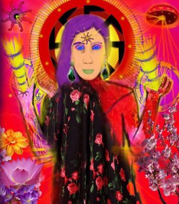 Alexander Tatarnikov. Creative style uholizm, by DiezelSun, Diezel Sun.