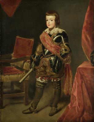 Juan Batista Martinez del Maso. Prince Balthazar Carlos
