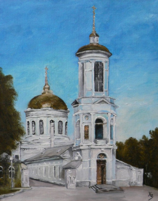 Sergei Nikolayevich Khodorenko-Zatonsky. Voronezh. Pokrovsky temple