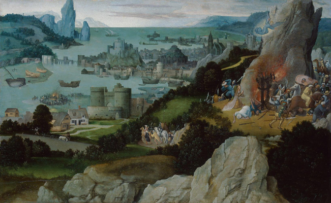 Joachim Patinir. The Martyrdom Of Saint Catherine