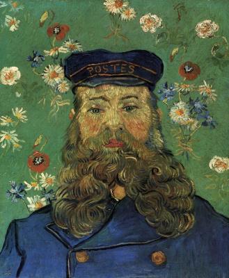Vincent van Gogh. Portrait of Joseph Roulin (option)