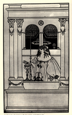 Обри Бердслей. История о Венере и Тангейзере, фронтспис