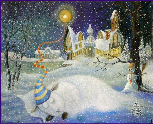 Alexander Ivanovich Kolodin. THE NIGHT BEFORE CHRISTMAS