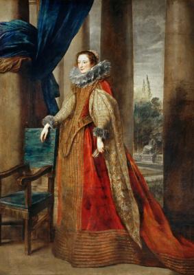 Портрет генуэзской дамы, возможно, маркизы Джеронимы Спинолы-Дориа