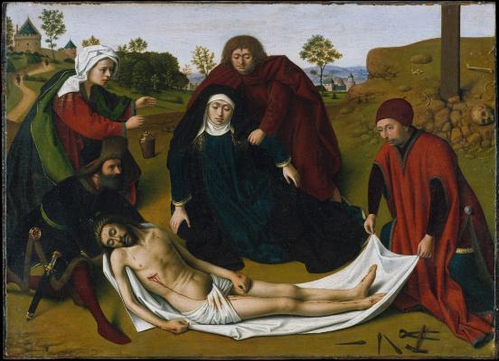 Petrus Christus. The Lamentation