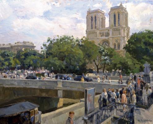 Yuri Krotov. Notre Dame de Paris.