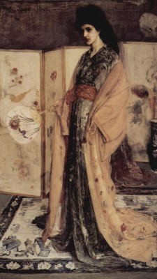 James Abbot McNeill Whistler. Princess of the Country of China