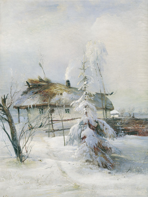 Alexey The Kondratyevich Savrasov. Winter