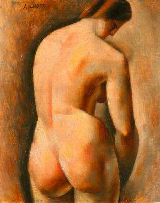 Андре Лот. Обнаженная со спины. Около 1920