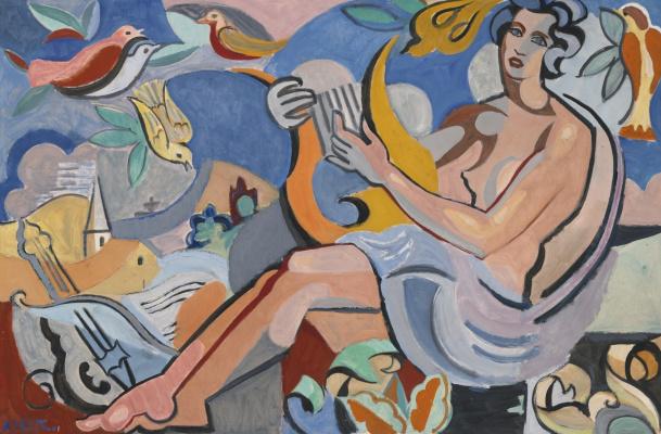 Андре Лот. Похвала поэзии. 1935