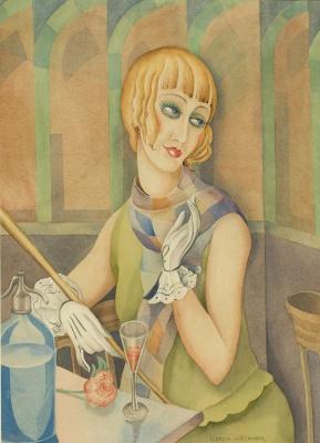 Gerda Wegener. Lily Elbe (transsexual Einar Wegener, husband of Gerda Wegener)