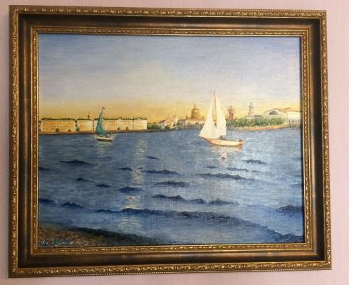 Konstantin Vizgalin. Maritime Festival, St. Petersburg