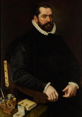 Адриан Томас Кей. Мужской портрет