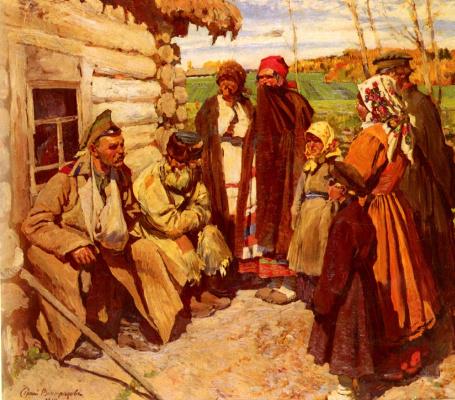 Sergey Arsenievich Vinogradov. Stories about the war