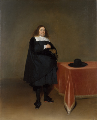 Gerard Terborch (ter Borch). Portrait of the Mayor Jan van Duren