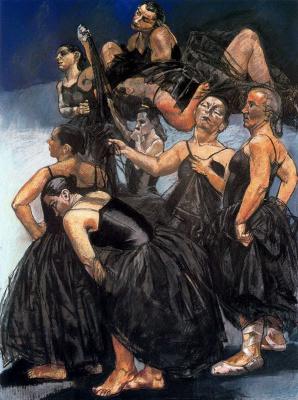 Паула Рего. Балерины в черном