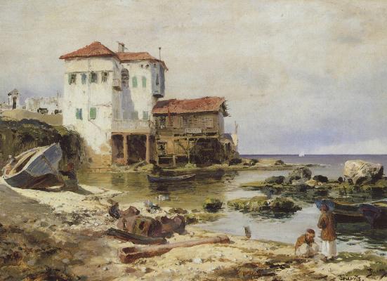 Vasily Dmitrievich Polenov. Beirut