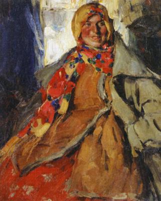 Абрам Ефимович Архипов. Женский портрет.